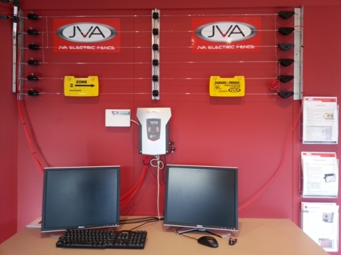 JVA Product stand