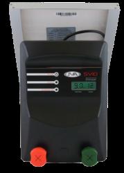 JVA SV10 Portable Solar Powered Electric Fence Energiser